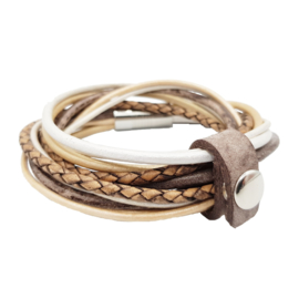 Leather Wrap Natural