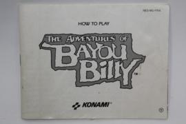 Bayou Billy Manual (FRA)