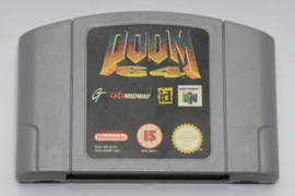 Doom 64 (UKV) (Label Damage)