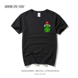 Super Mario T-shirt Black