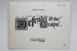 Defender Of The Crown Manual (FRA)