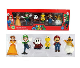 Super Mario 6 Figure Set ( 1 )