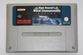 Nigel Mansell's World Championship Racing (Discolored ) (FAH)