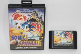 Sonic Spinball ( No Manual )