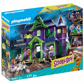 Playmobil Scooby Doo! Mystery Mansion - 70361 (NEW)