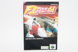 F1 Pole Position 64 ( Manual Only )