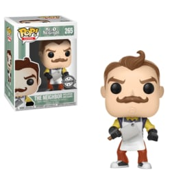 Hello Neighbor Funko Pop! Vinyl: The Neighbor With Apron And Meat Cleaver Exclusive (NEW)