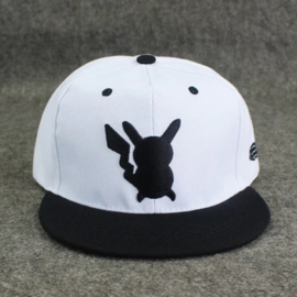 Pokemon Pikachu Cap White