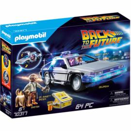 Playmobil Back to the Future DeLorean - 70317 (NEW)