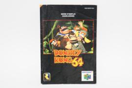 Donkey Kong 64 Manual (FAH)
