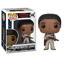 Stranger Things Pop Vilyl! Ghostbuster Lucas (NEW)