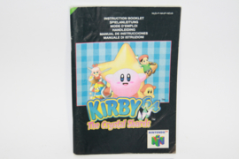 Kirby 64 The Crystal Shards  *Manual (NEU6)