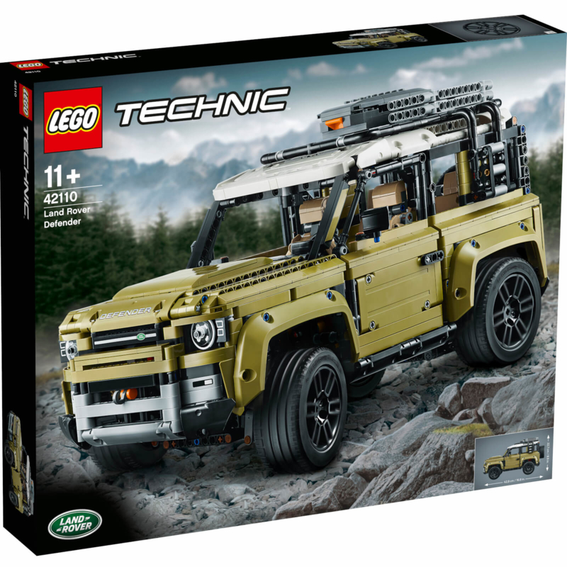 LEGO Technic: Land Rover Defender Collector's Model Car - 42110 (NEW)