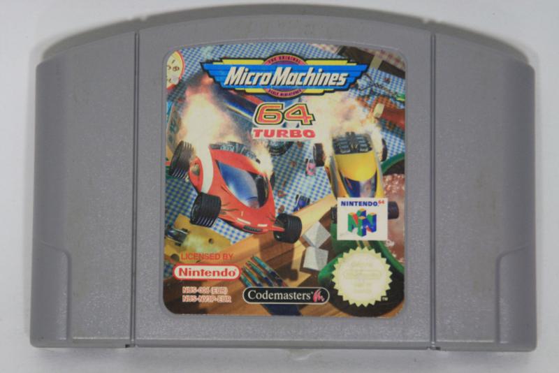 Micro Machines 64 Turbo (EUR)