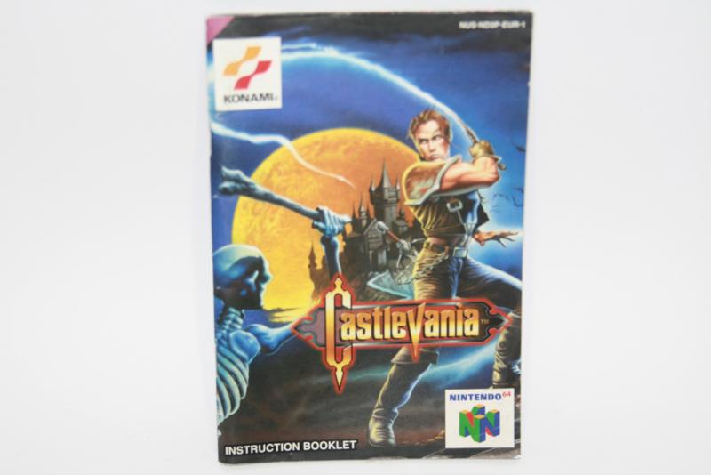 castlevania  *Manual (EUR)