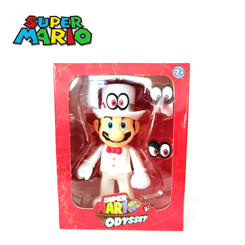 Super Mario Bros 12cm ( Mario 2 ) Packaging has slight damage