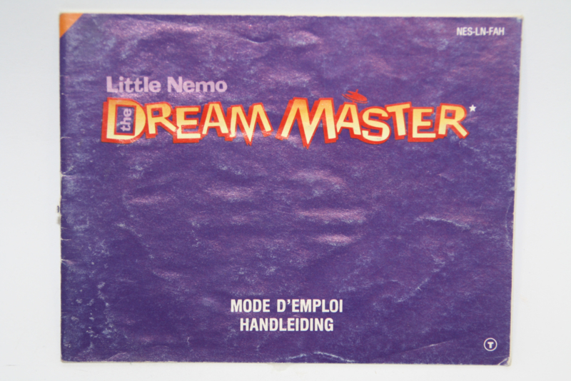 Little Nemo Dream Master Manual (FAH)