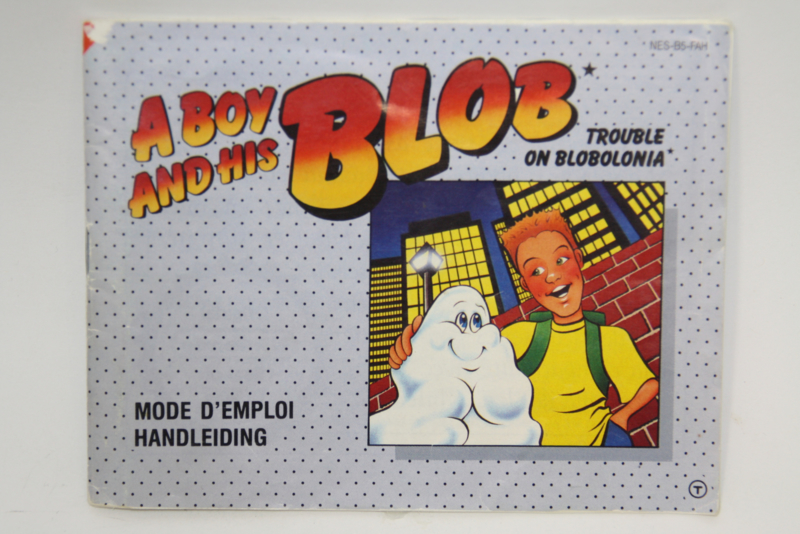 A Boy and His Blob Manual (FAH)