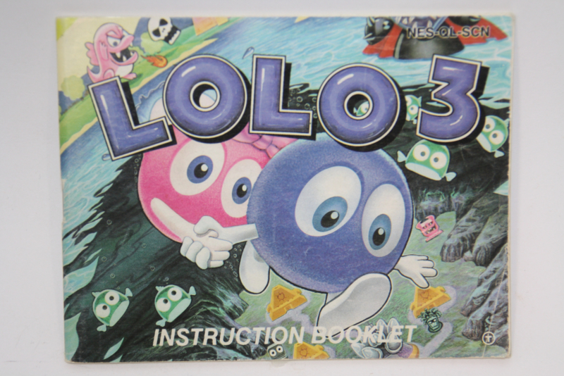Lolo 3 Manual (SCN)