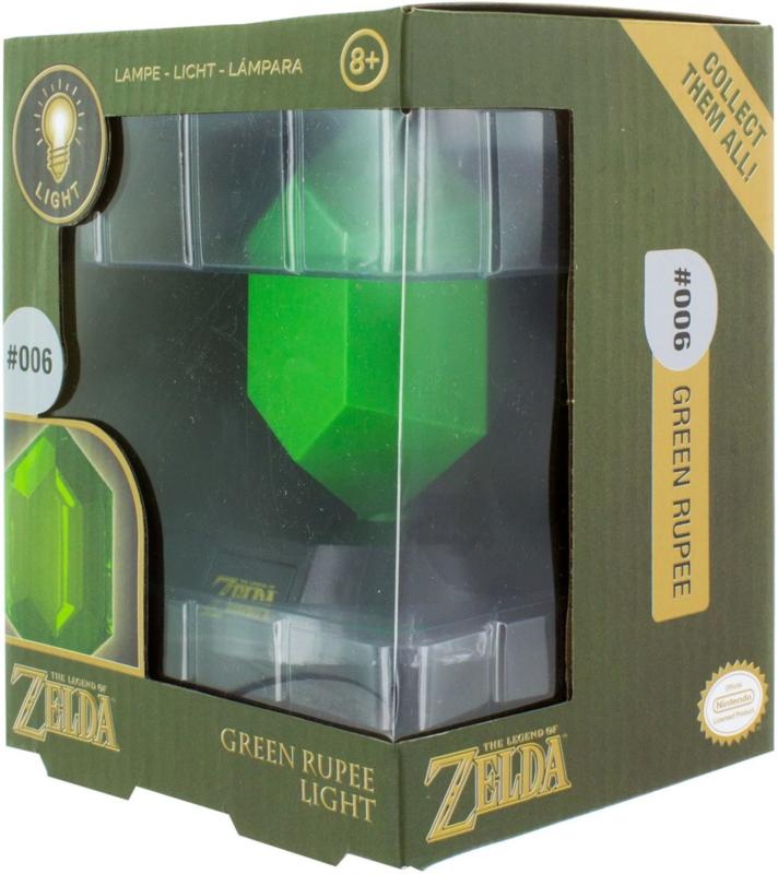 The Legend of Zelda Green Rupee 3D Light