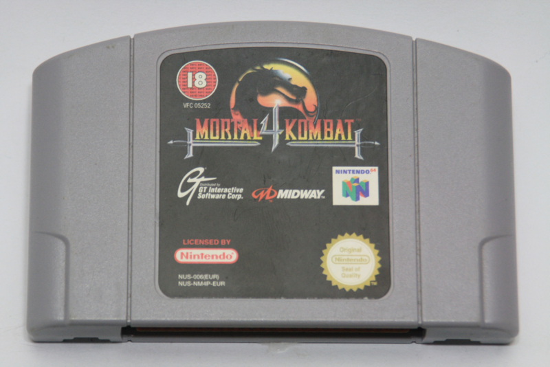 Mortal Kombat 4 (EUR)