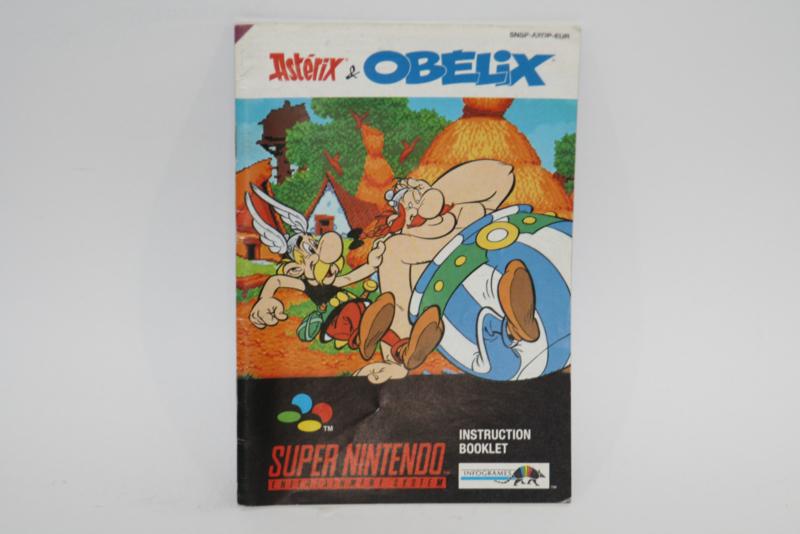 Asterix & Obelix Manual (EUR)