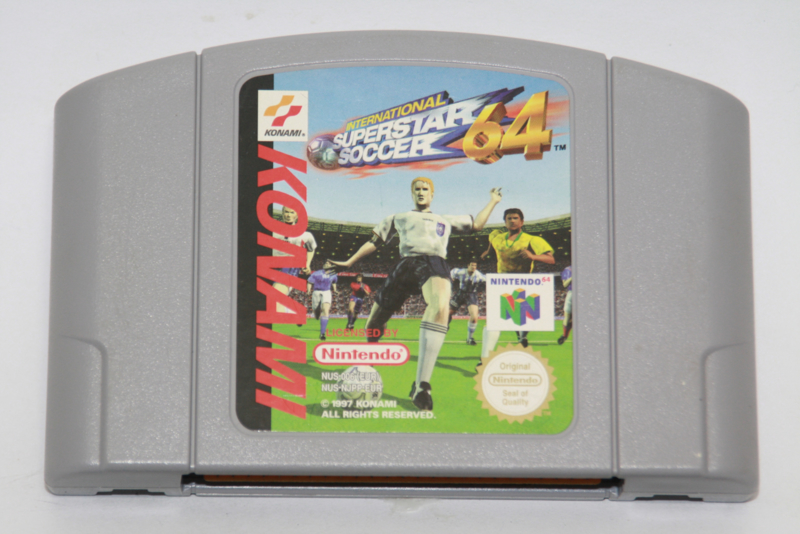 International Superstar Soccer 64 (EUR)