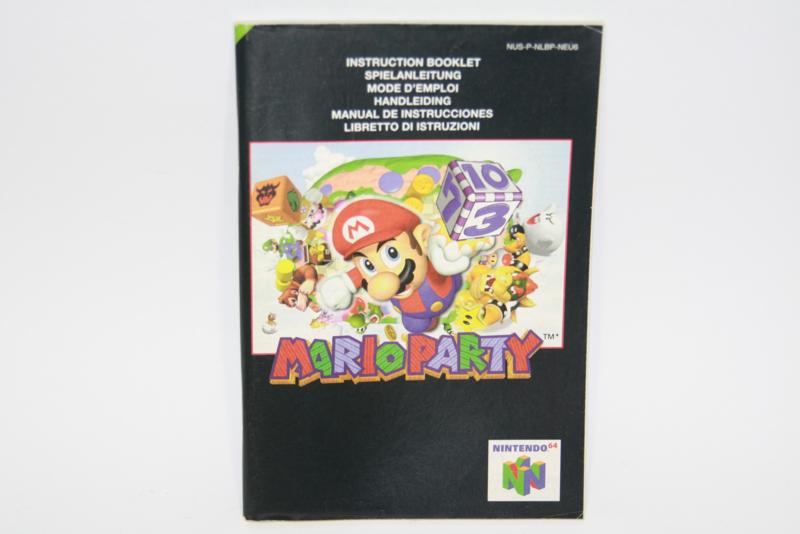 Mario Party  *Manual (NEU6)