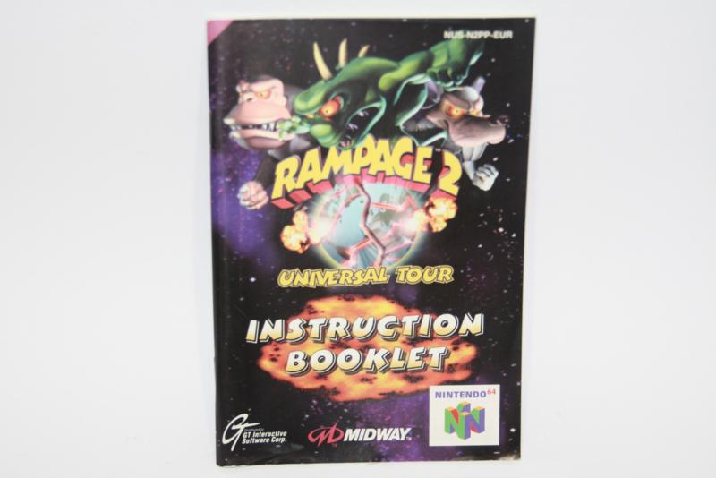 Rampage 2 : Universal Tour *Manual (EUR)