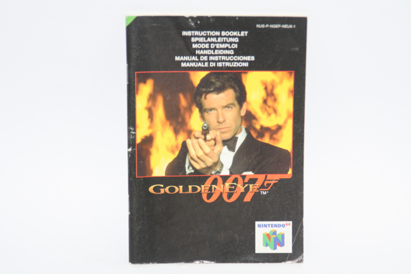 GoldenEye 007 Manual (NEU6-1)