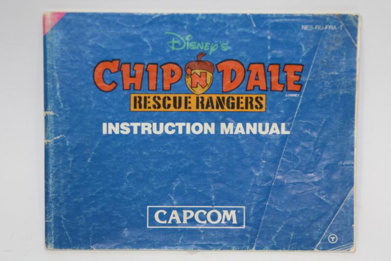Chip 'n Dale Rescue Rangers Manual (FRA)