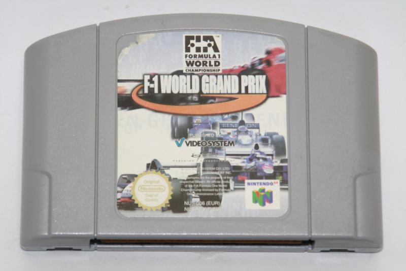 F-1 World Grand Prix (EUR)(Label Damage)