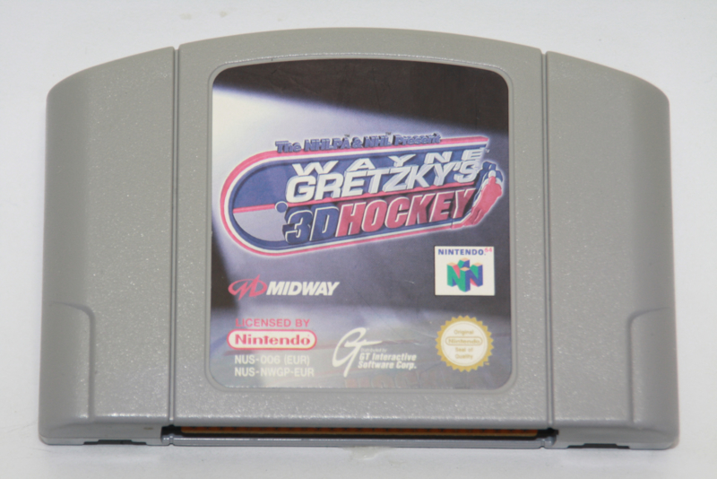 Wayne Gretzky's 3D Hockey (EUR)(Slightly Discolored)