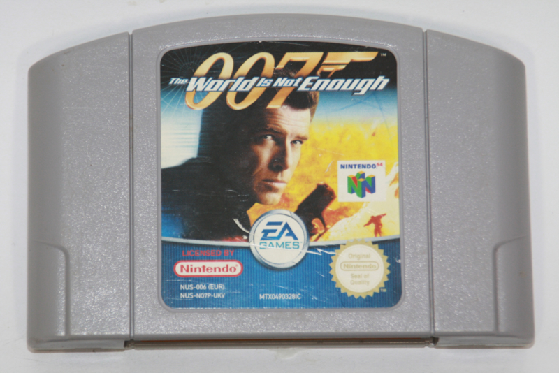 The World Is Not Enough 007 (UKV)