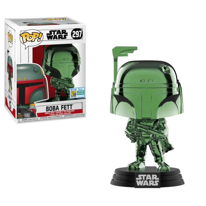 Star Wars Pop! Vinyl: Boba Fett (Funko 2019 Summer Convention Excl)(NEW)