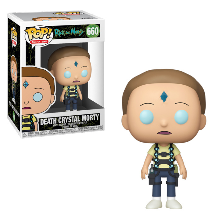 Rick And Morty Funko Pop! Vinyl: Death Crystal Morty (NEW)