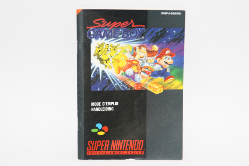 Super Gameboy Manual (FAH)