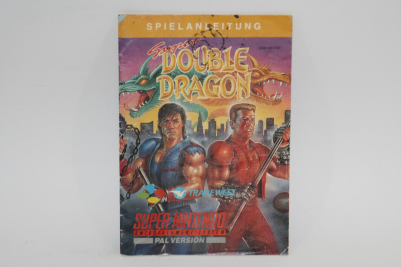 Super Double Dragon Manual (FRG)