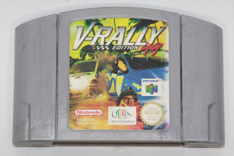V-Rally Edition '99 (EUU)(Cart Painted)