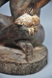 Oud houten PHEMBA beeld van de YOMBE, DR Congo, 1960-70