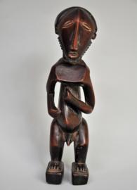 Splendidly styled statue, BASIKASINGO tribe, D.R. Congo, approx. 1980
