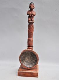 Older, ceremonial spoon, ASHANTI people, Ghana, 1960-70