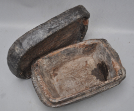 Oeroude PUNAMHAN, rituele offerbox, IFUGAO, Filipijnen, 1900 - 1920