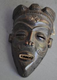 Older passport PENDE mask, D.R. Congo, approx. 1970