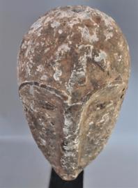 Imposant decoratief Ngil masker, FANG , Gabon, ca 1950