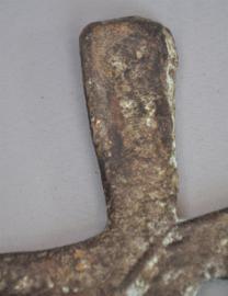 KATANGA CROSS, oud Congolees betaalmiddel van rood koper, DR Congo,