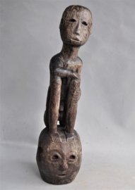 Ancient, rare nara BULUL statue, Ifugao, Philippines, 80-100 years old