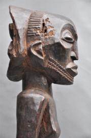 Mega groot decoratief beeld van de LUBA, DR Congo, jaren -70
