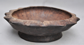 Old tribally used wooden bowl, IFUGAO, Luzon, 1st half 20th century