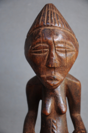 Old ancestor statue, LUBA, D.R. Congo, 1950-60